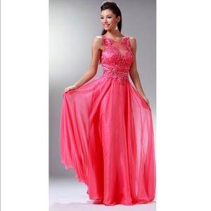 Cinderella JC906 Watermelon Dress size 8